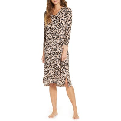 Rachel Parcell Knit Nightgown, Beige (Nordstrom Exclusive)