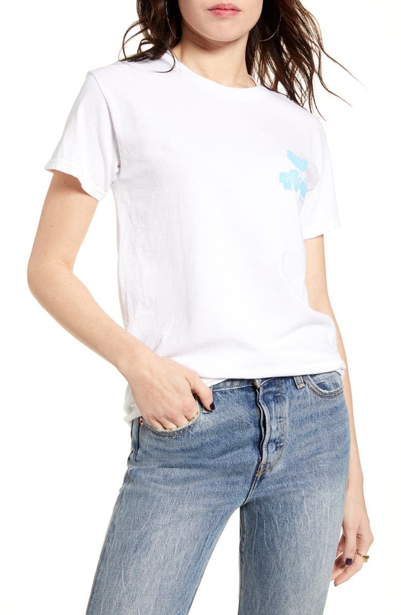 VINYL ICONS Woodstock Oversize Tee, Main, color, 101