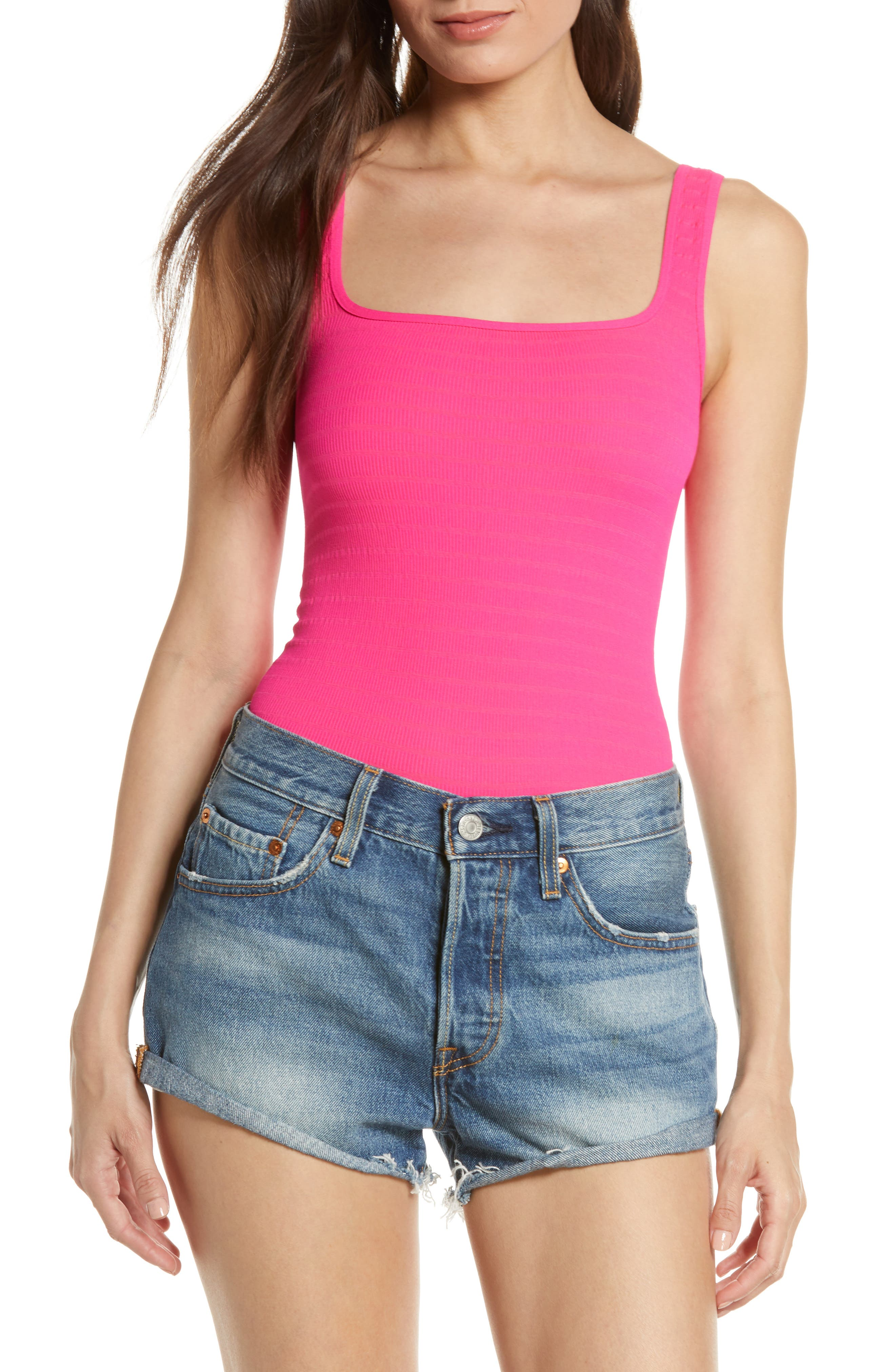,                             Intimately FP Square One Seamless Camisole,                             Alternate thumbnail 52, color,                             664