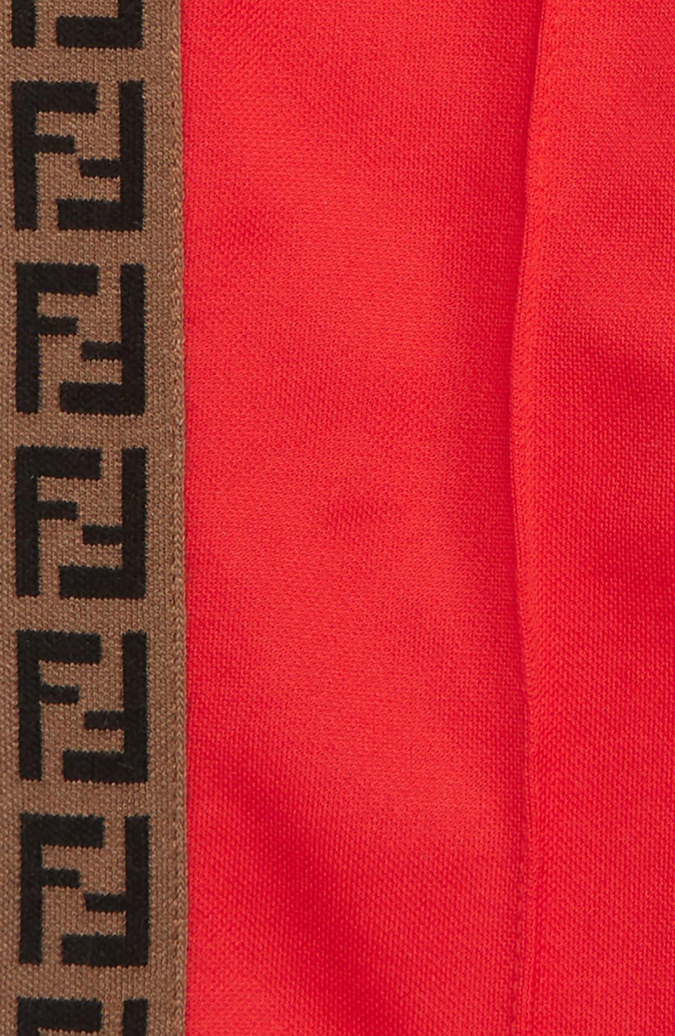 ,                             Logo Detail Track Pants,                             Alternate thumbnail 2, color,                             RED