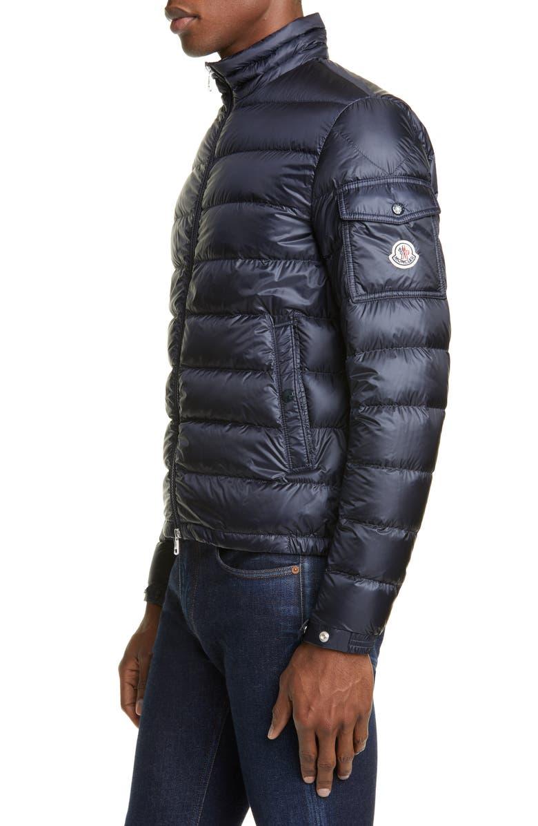MONCLER Lambot Zip Up Jacket, Main, color, BLUE