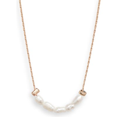 8 Other Reasons Beach Babe Imitation Pearl Necklace