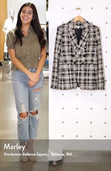 Miller Embellished Tweed Dickey Jacket, sales video thumbnail