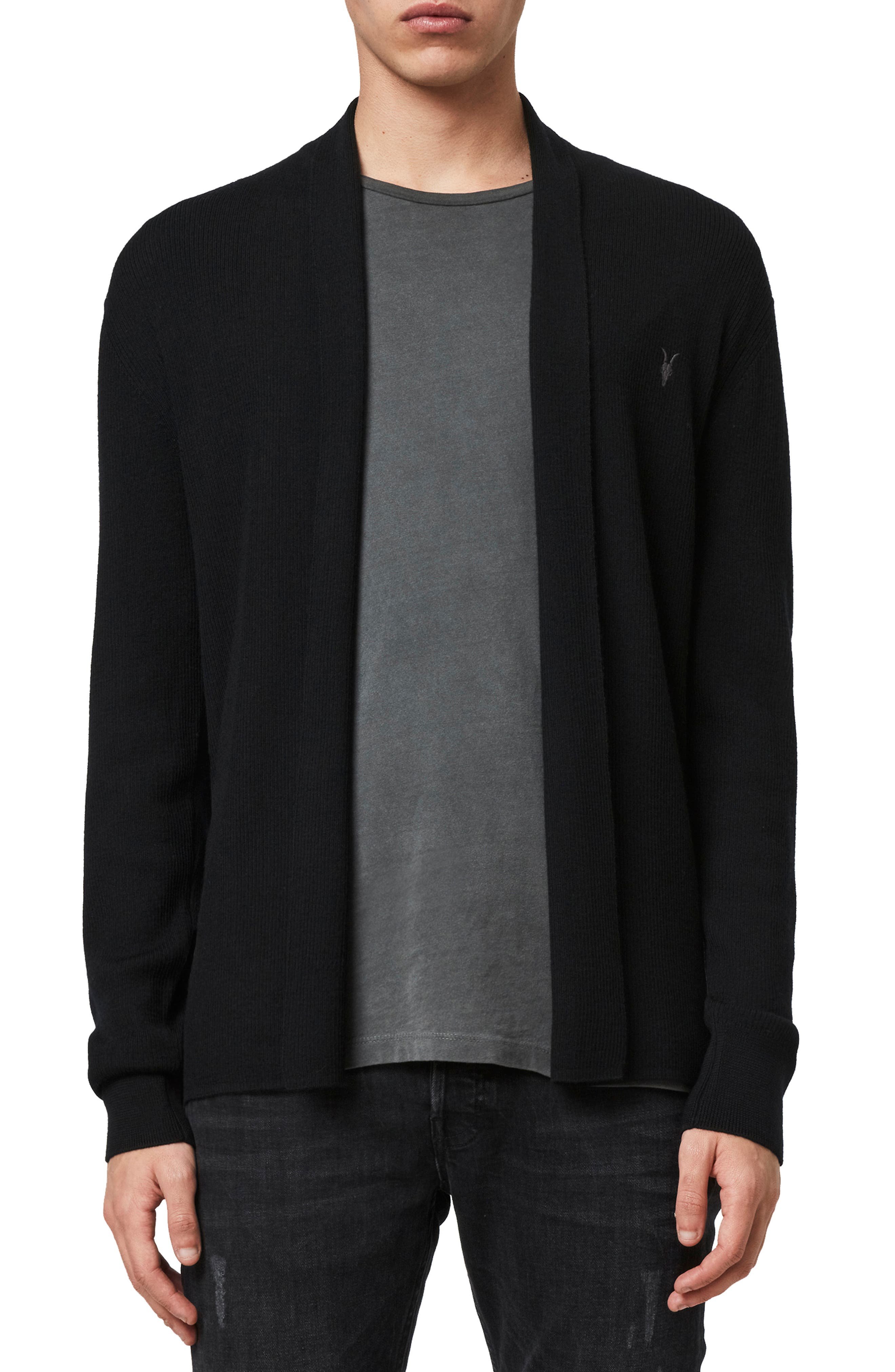Mode Slim Fit Wool Cardigan