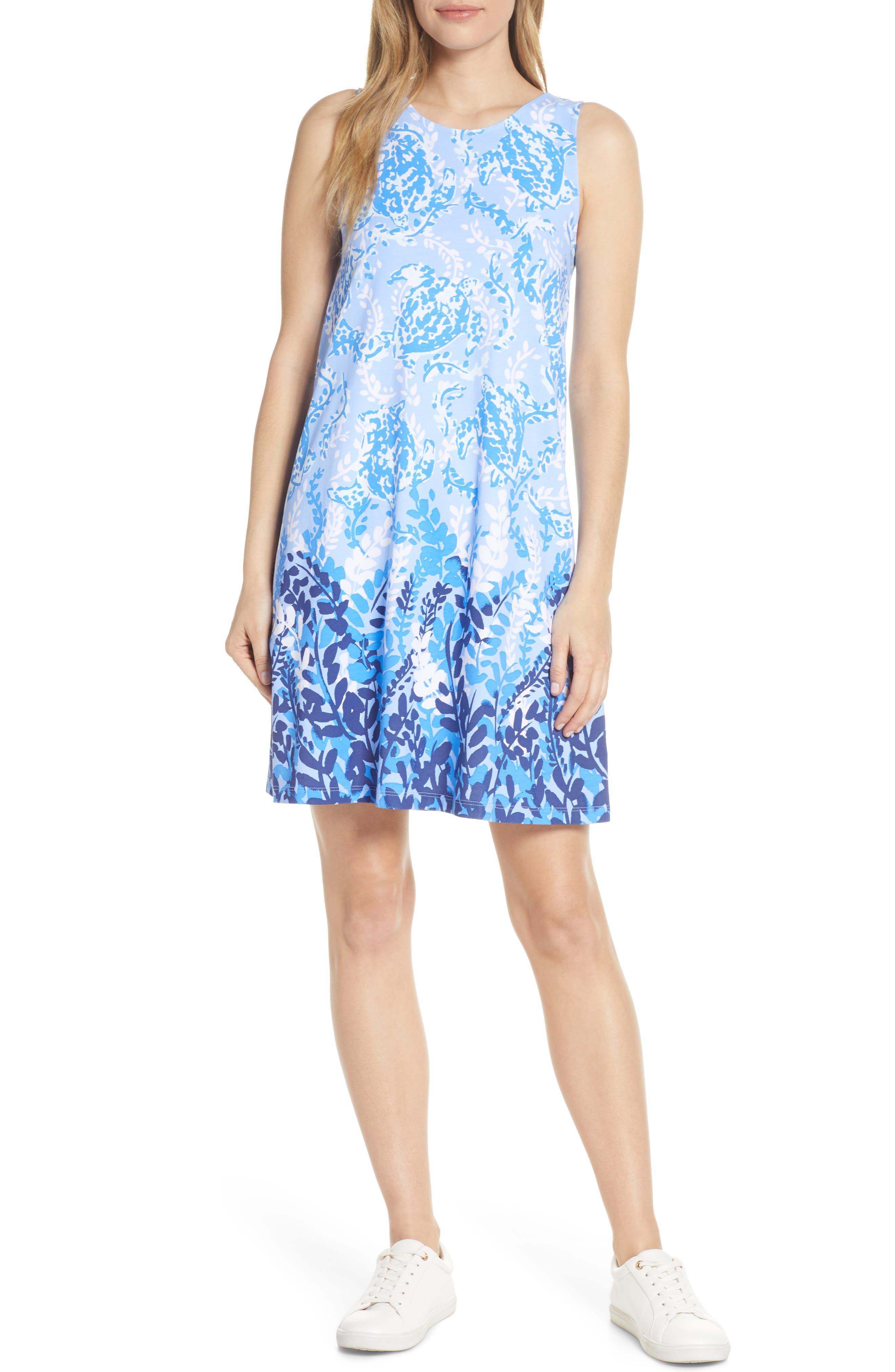 Lilly Pulitzer Kristen Shift Dress, Blue