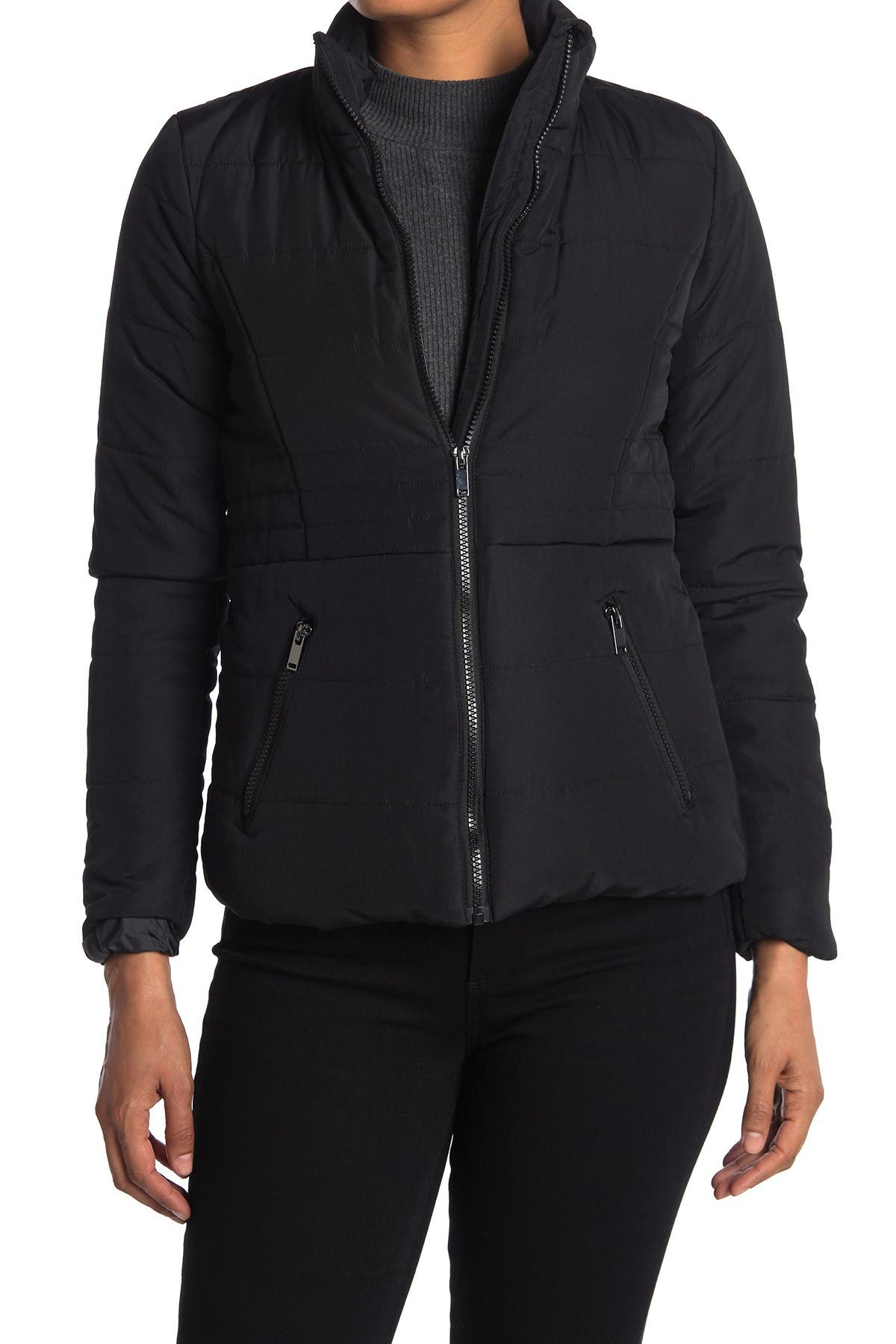 Image of Be Boundless Soft Touch Quilted Puffer Jacket