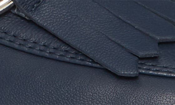 DEEP BLUE LEATHER