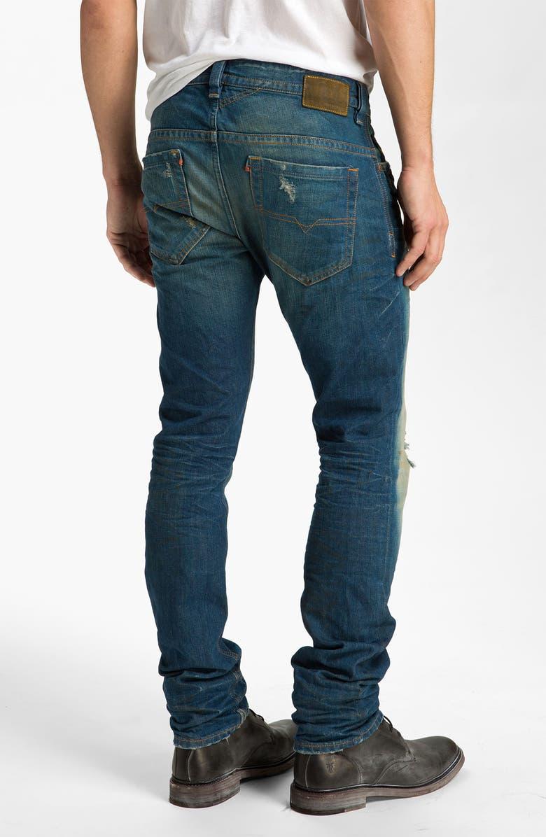 db62eef8 DIESEL® 'Thavar' Slim Straight Leg Jeans (08X2) | Nordstrom