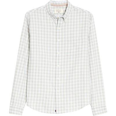 The Normal Brand Midcoast Regular Fit Buttondown Long Sleeve Sport Shirt, Grey