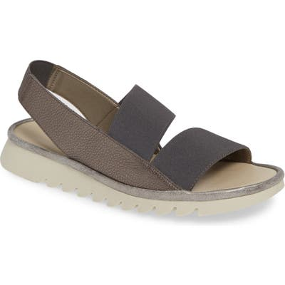 The Flexx New Wave Slingback Sandal, Metallic