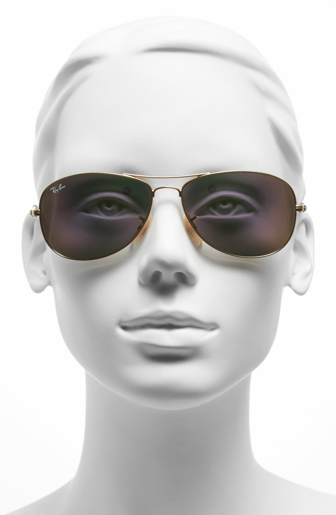,                             'New Classic' 59mm Aviator Sunglasses,                             Alternate thumbnail 6, color,                             711