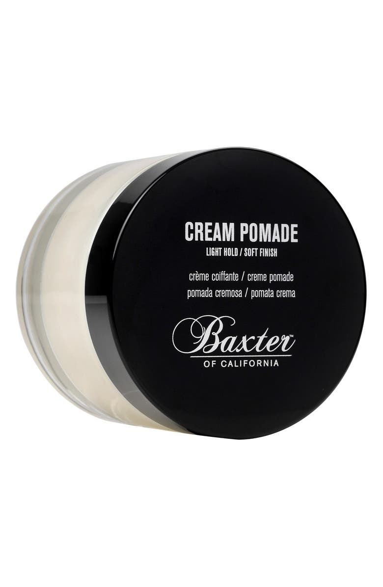 BAXTER OF CALIFORNIA Cream Pomade, Main, color, NO COLOR