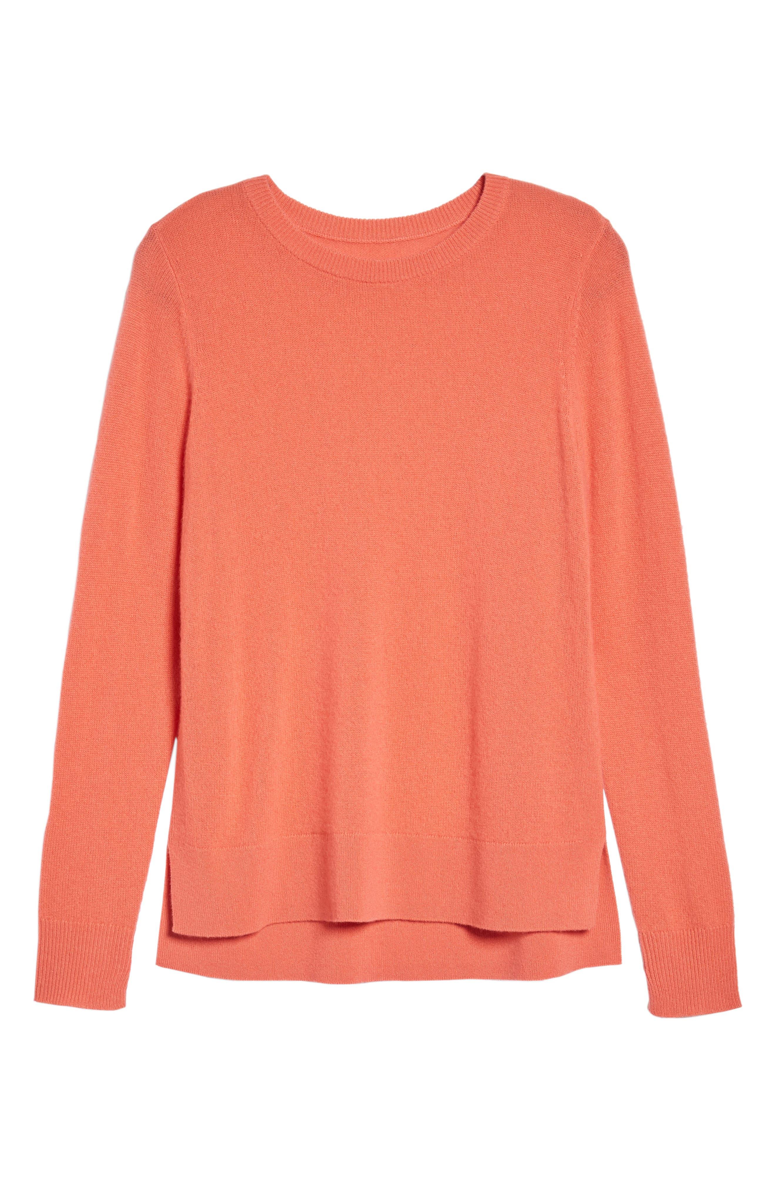 ,                             Crewneck Cashmere Sweater,                             Alternate thumbnail 236, color,                             950