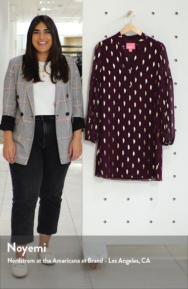 Shea Long Sleeve Silk Dress, sales video thumbnail