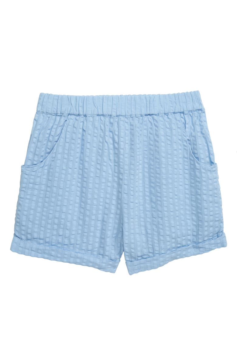 STEM Summer Cotton Shorts, Main, color, BLUE FOREVER