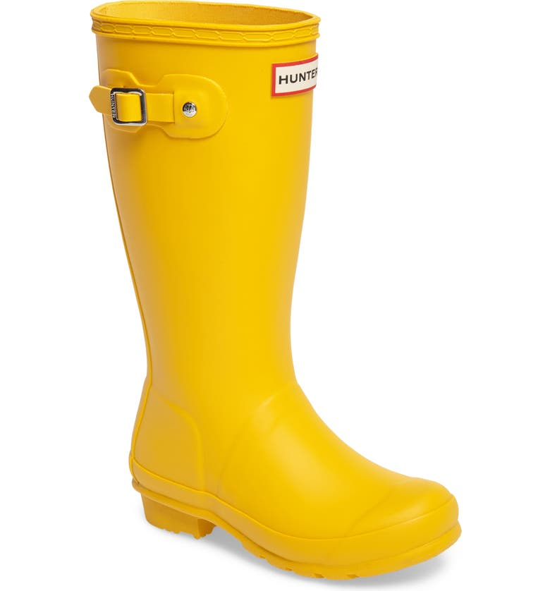 HUNTER Original Rain Boot, Main, color, YELLOW