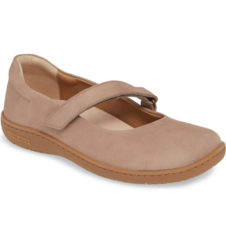 BIRKENSTOCK Lora Flat, Main, color, TAUPE LEATHER