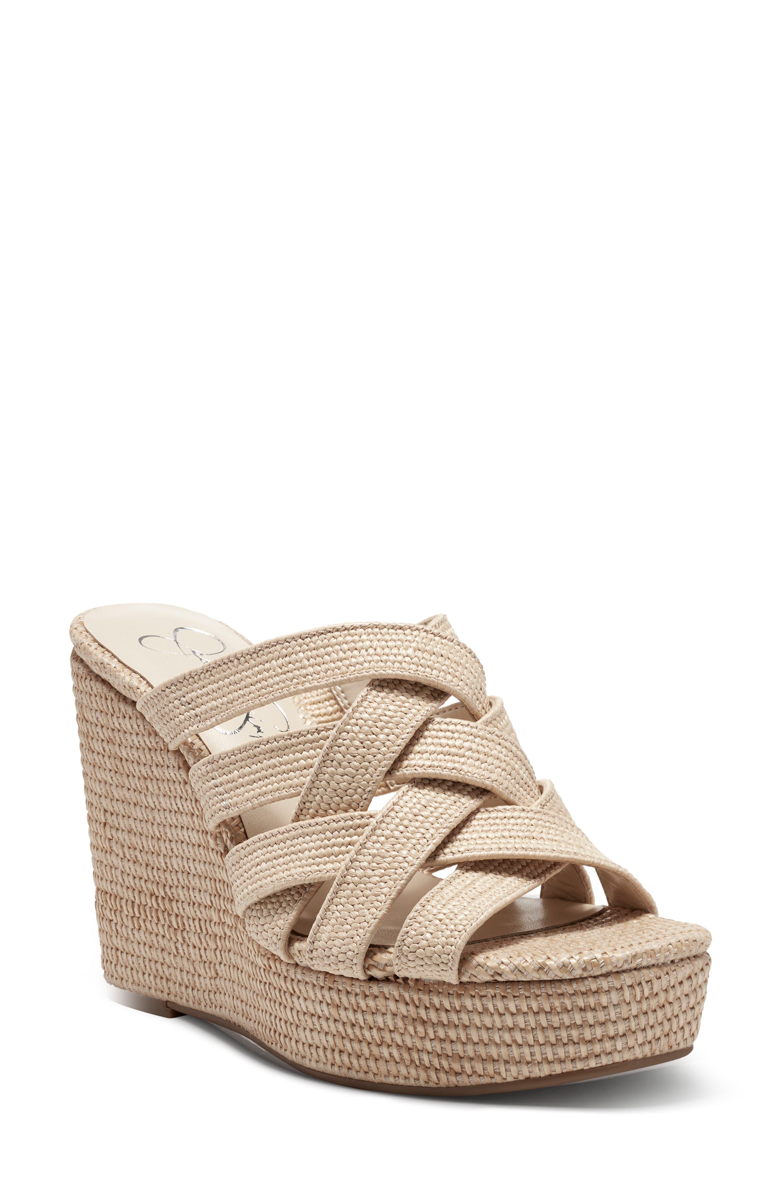 Siane Wedge Slide Sandal