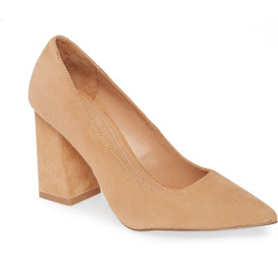 Chinese Laundry Kyra Pointed Toe Pump- Brown