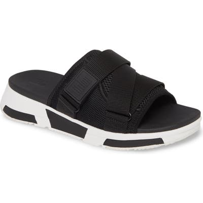 Fitflop Alyssa Slide Sandal, Black