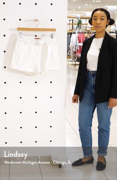 Belted Denim Shorts, sales video thumbnail
