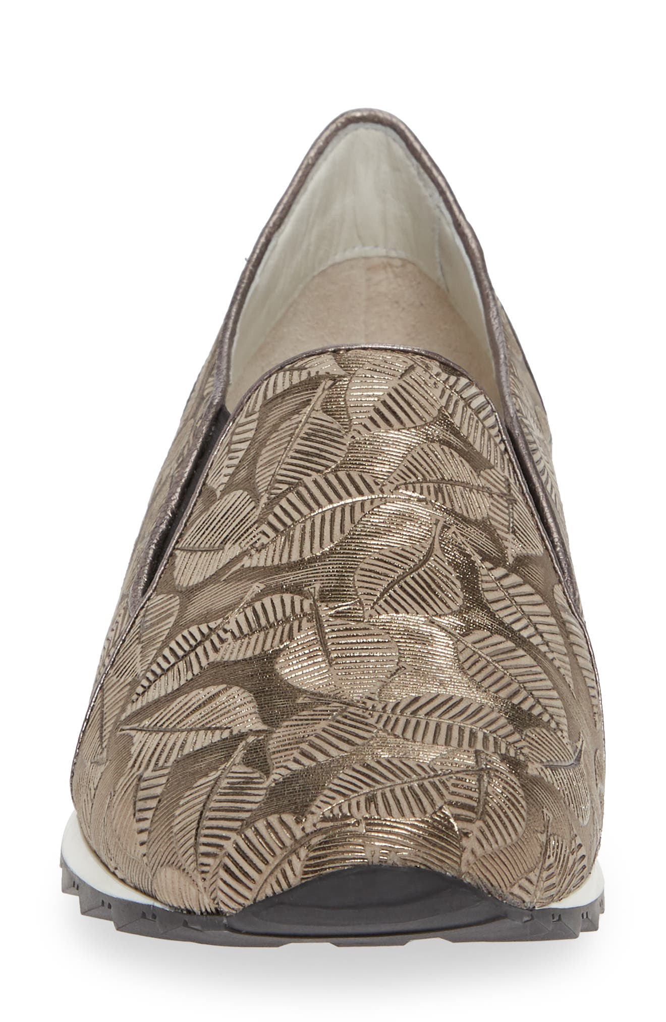 ,                             Francia Slip-On Sneaker,                             Alternate thumbnail 4, color,                             TAUPE LEATHER
