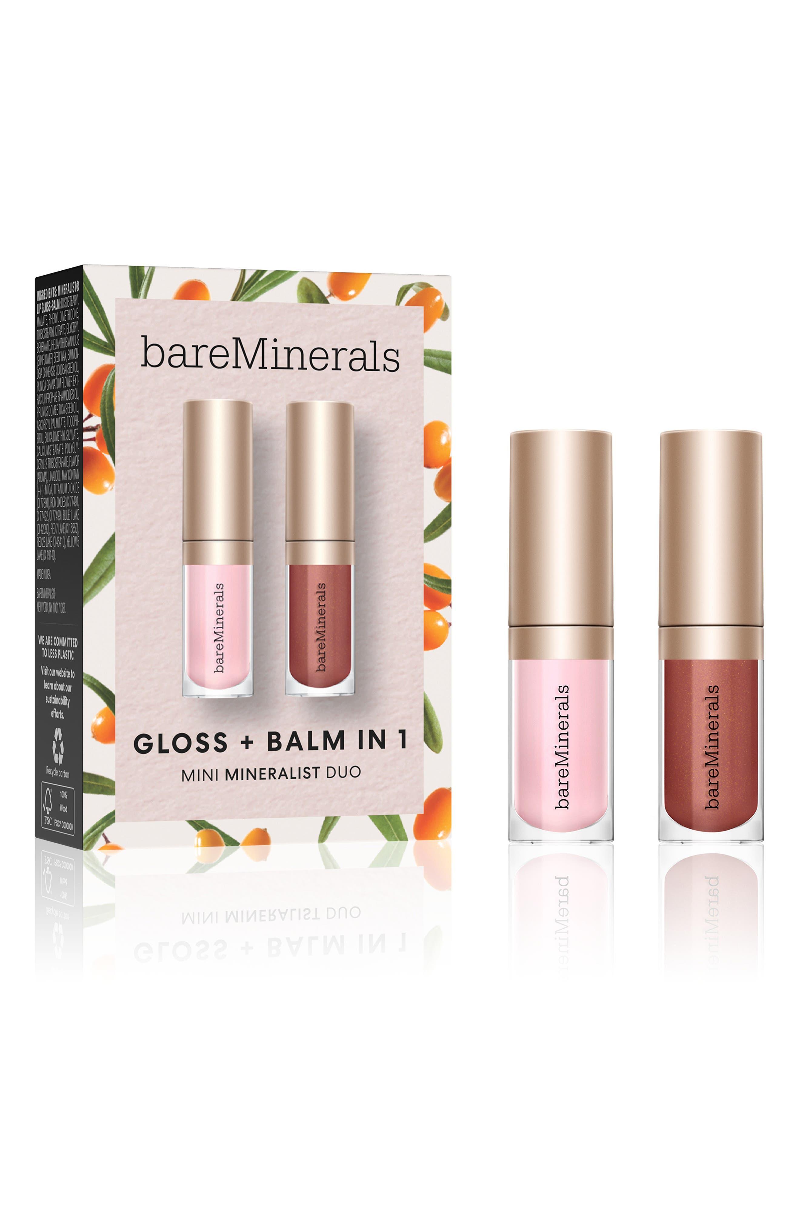 Bareminerals Mini Mineralist Gloss + Balm Duo