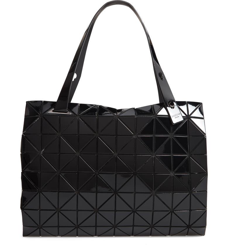 BAO BAO ISSEY MIYAKE Carton Prism Tote Bag, Main, color, 001