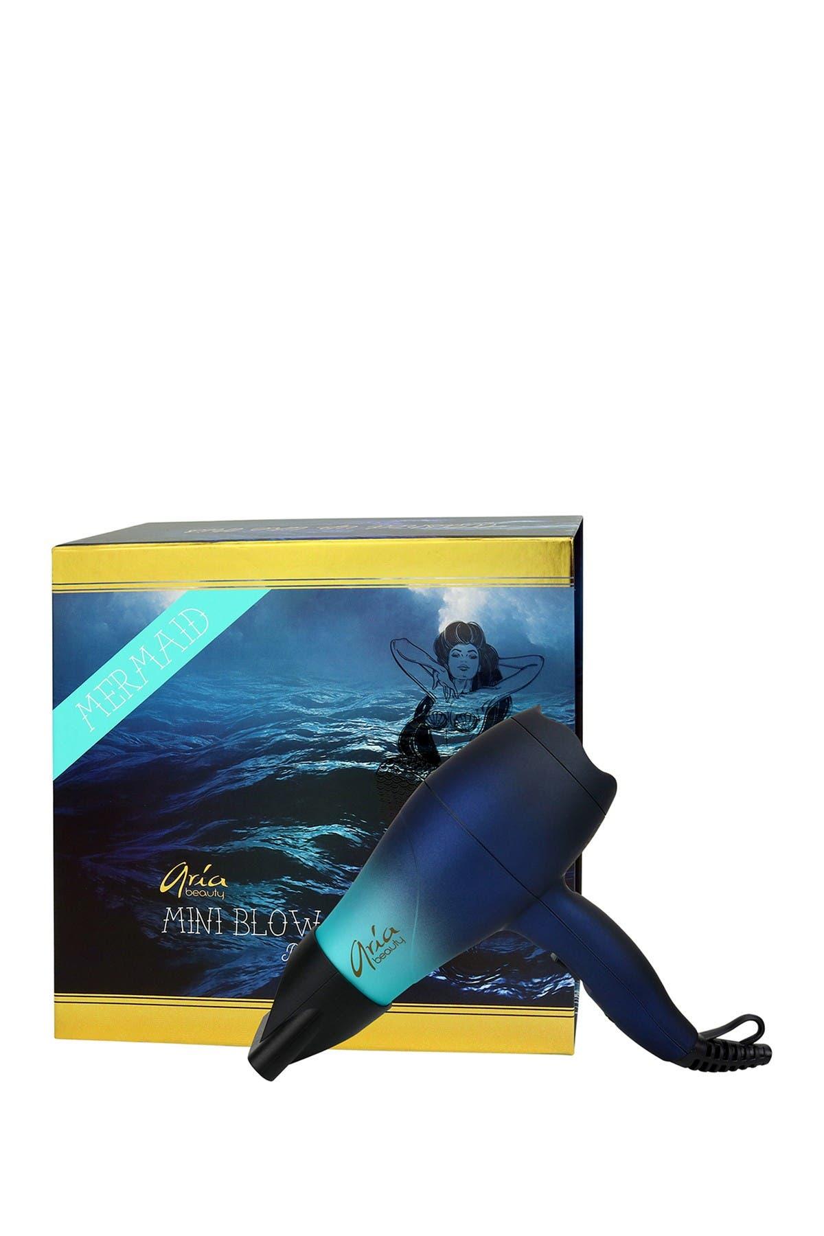 ARIA Mermaid Mini Blow Dryer & Hair Diffuser