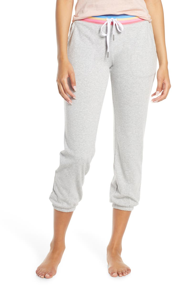 PJ SALVAGE Sundaze Lounge Jogger Pants, Main, color, H GREY