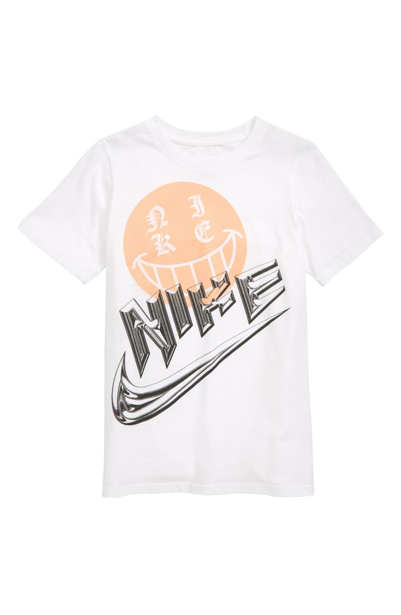 NIKE Sportswear Icon Graphic T-Shirt, Main, color, 100