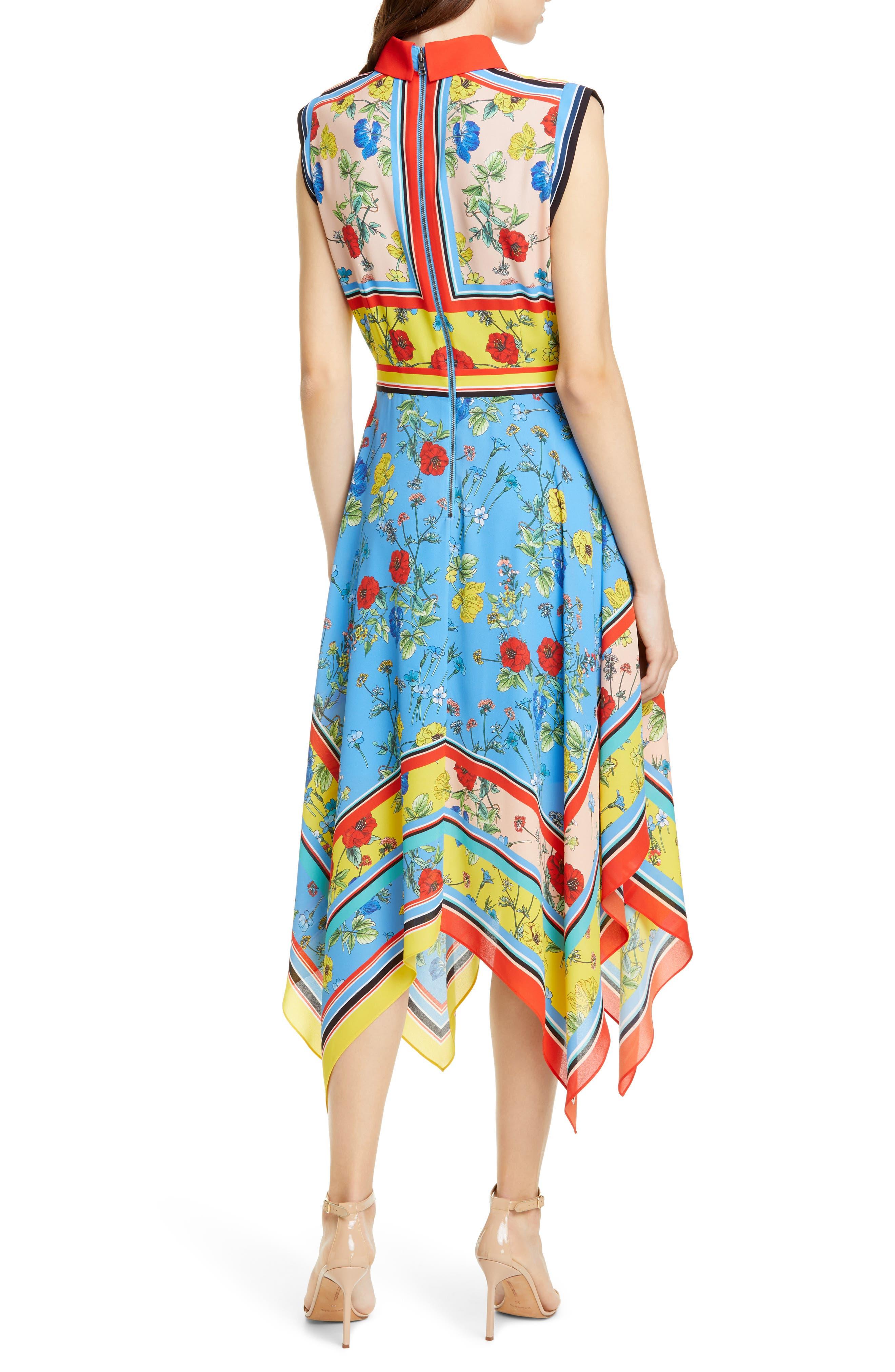 ,                             Farrah Handkerchief Dress,                             Alternate thumbnail 2, color,                             499