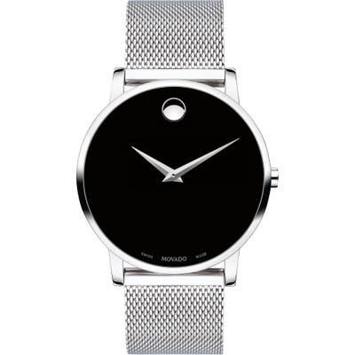 Movado Museum Mesh Strap Watch, 40mm