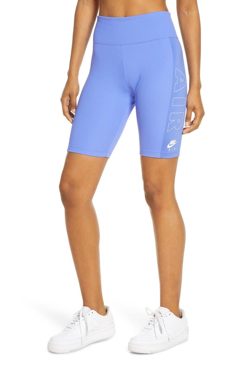 NIKE Air Bike Shorts, Main, color, 500