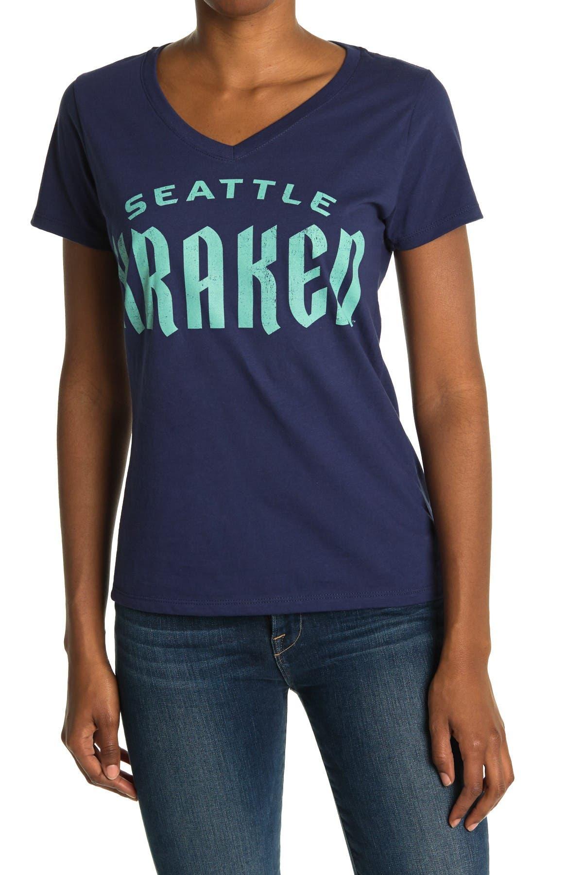 Image of Wright & Ditson NHL Seattle Kraken Print T-Shirt