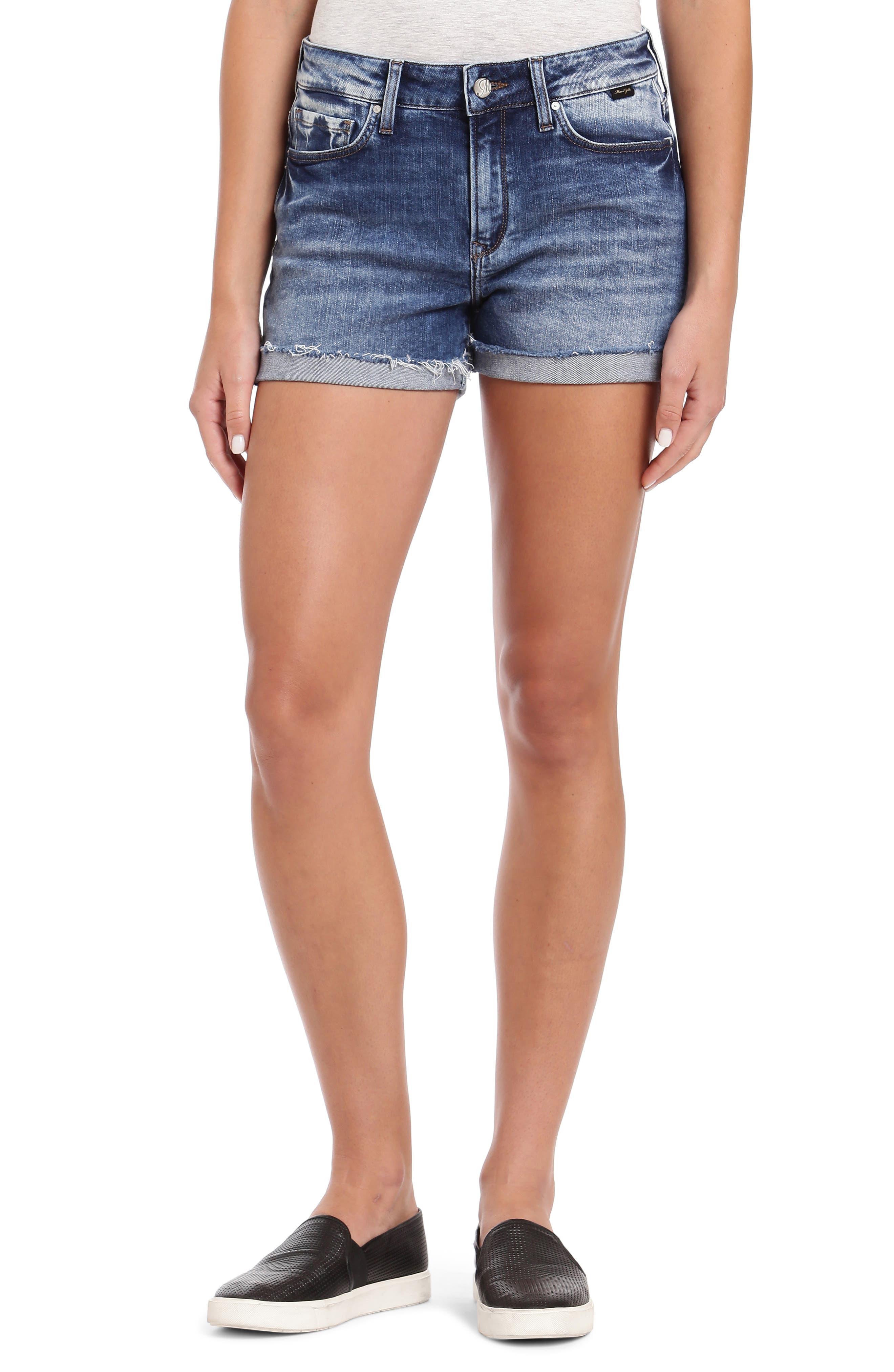 Women's Mavi Jeans Emily Cutoff Denim Shorts