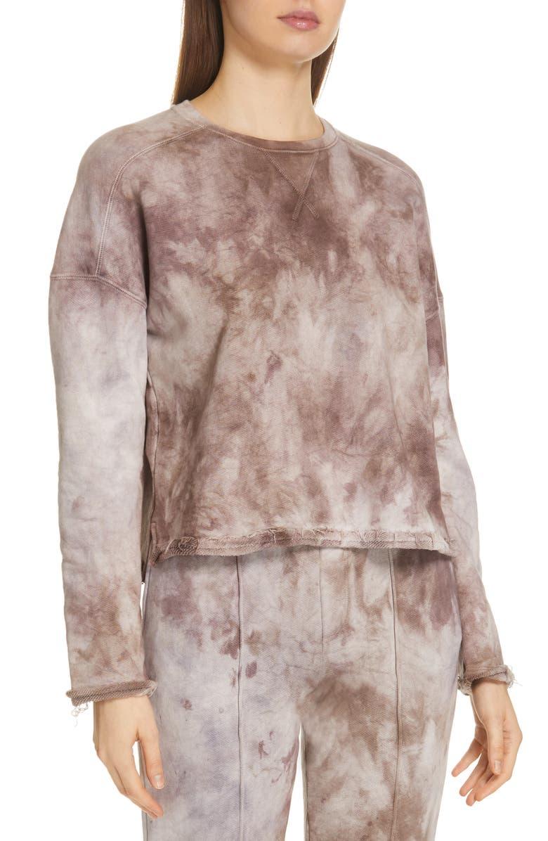 ATM ANTHONY THOMAS MELILLO Tie Dye Sweatshirt, Main, color, 200