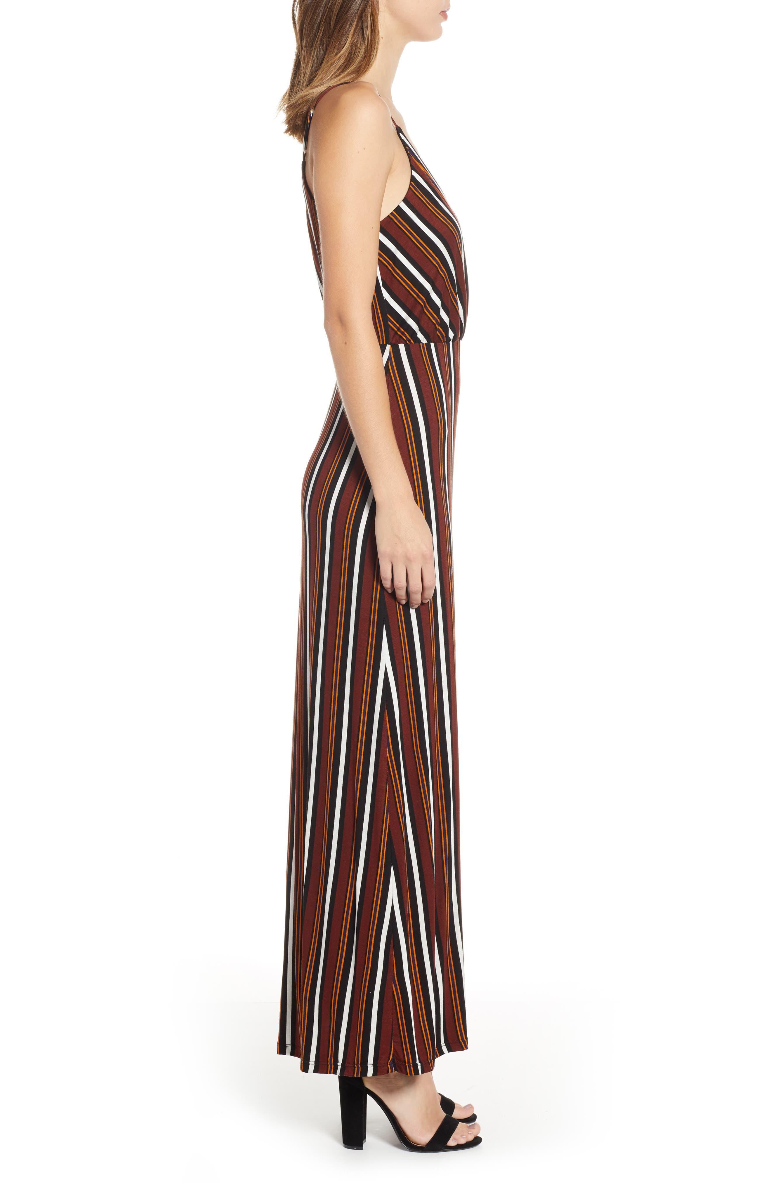 ,                             Surplice Neck Knit Maxi Dress,                             Alternate thumbnail 10, color,                             200