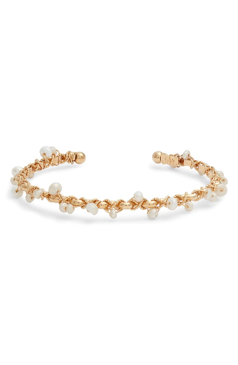 GAS BIJOUX Orphee Bracelet, Main, color, GOLD