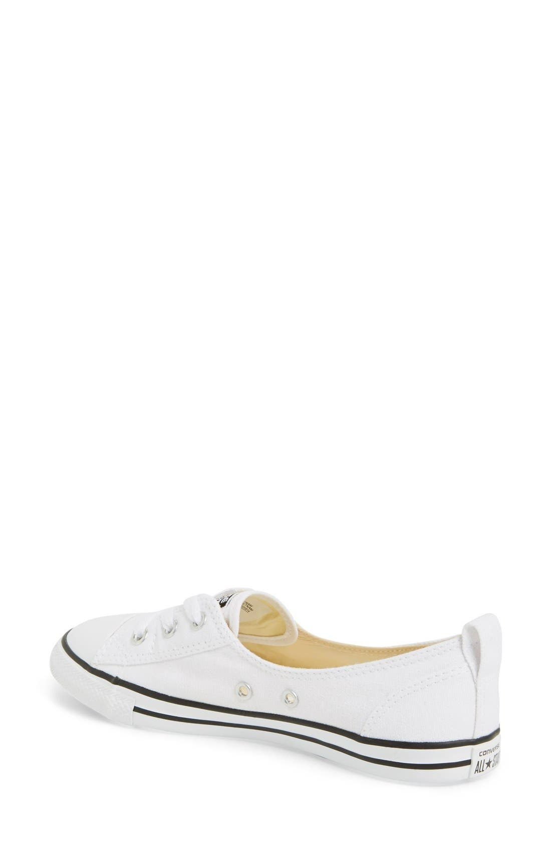 ,                             Chuck Taylor<sup>®</sup> All Star<sup>®</sup> Ballet Canvas Sneaker,                             Alternate thumbnail 19, color,                             100