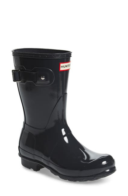 Image of Hunter Original Short Gloss Waterproof Rain Boot