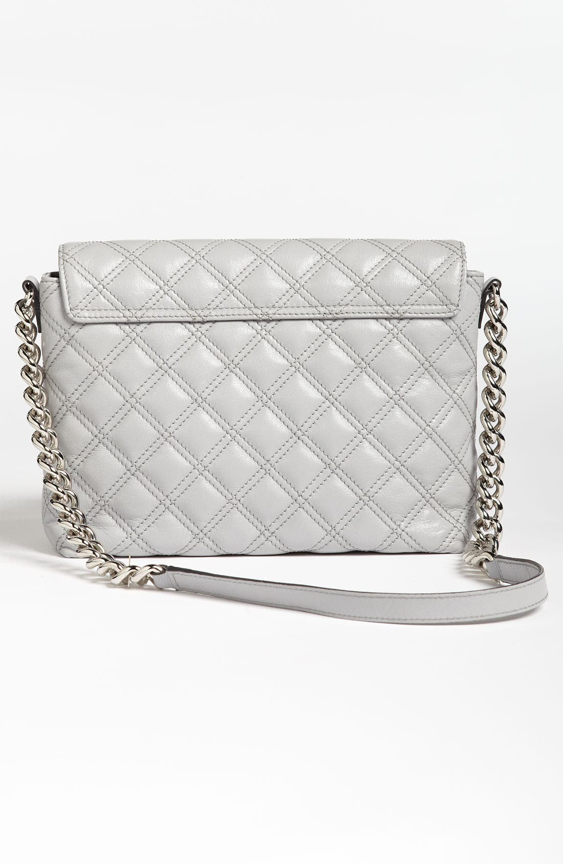 ,                             'Large Quilting Single' Leather Shoulder Bag,                             Alternate thumbnail 14, color,                             020