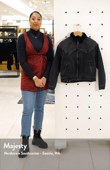 '80s Fleece Collar Denim Jacket, sales video thumbnail