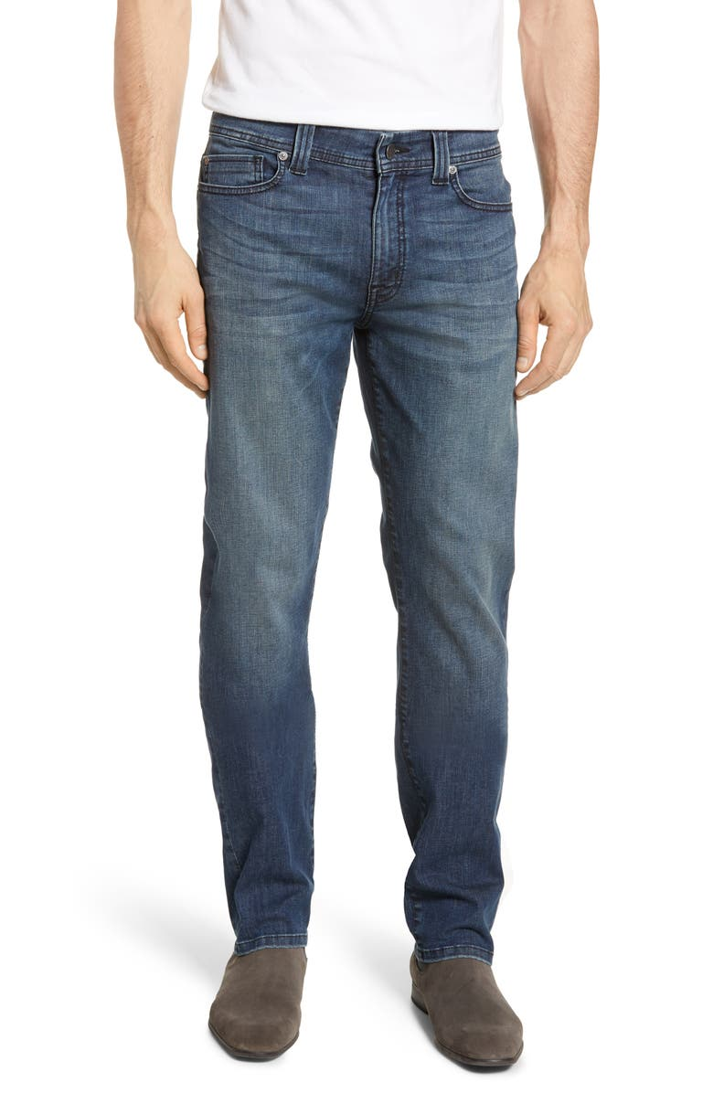 FIDELITY DENIM Jimmy Slim Straight Leg Jeans, Main, color, CANNON