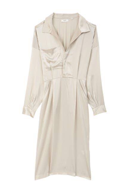 Image of Billy Reid Pleated Midi Dress