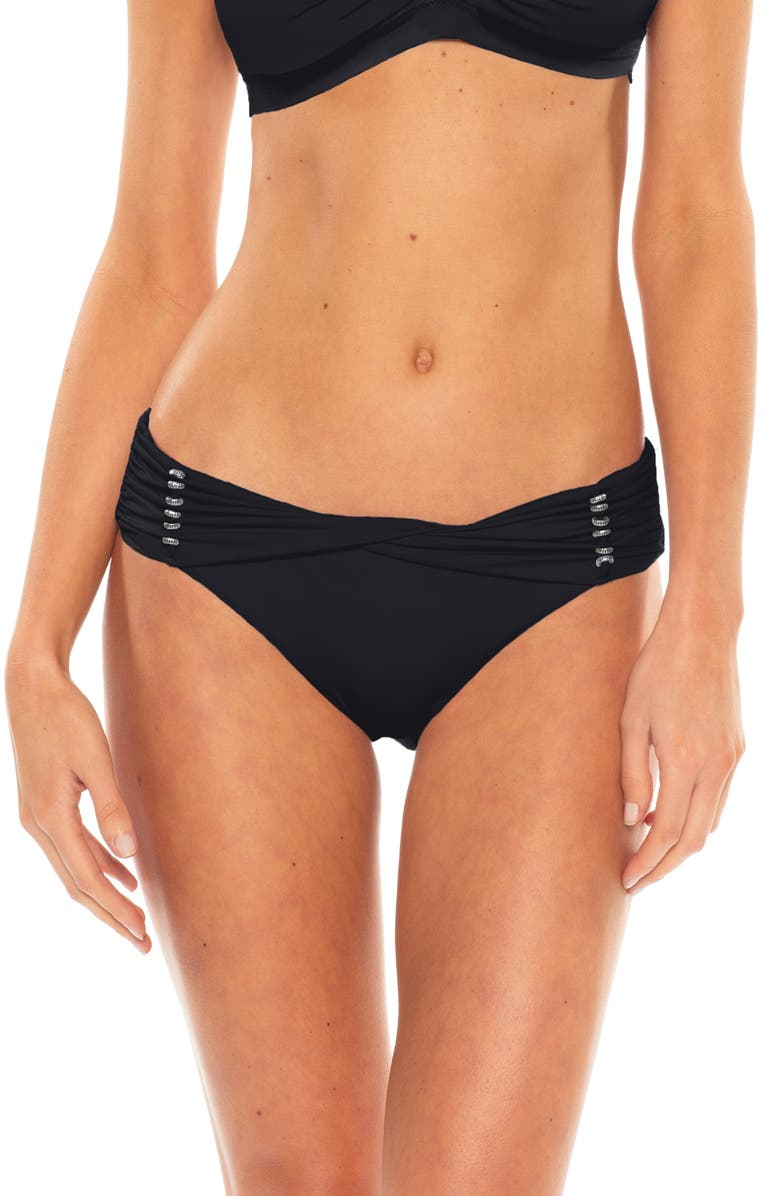 BECCA Reconnect Hipster Bikini Bottoms, Main, color, 014