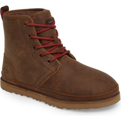 UGG Harkley Plain Toe Waterproof Boot, Brown