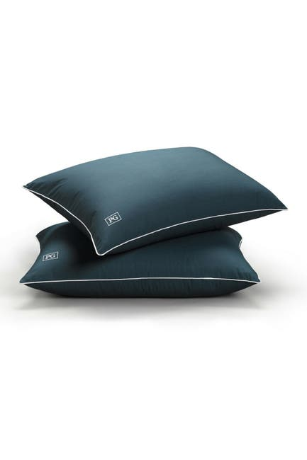 Image of Pillow Guy Med/Firm Down Alternative Side/Back Sleeper Pillow - Set of 2