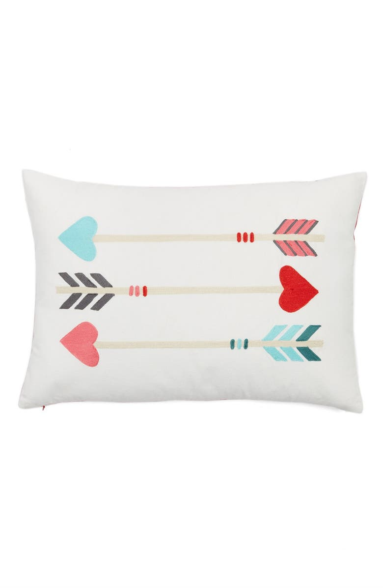 NORDSTROM at Home 'Arrows' Pillow, Main, color, IVORY MULTI