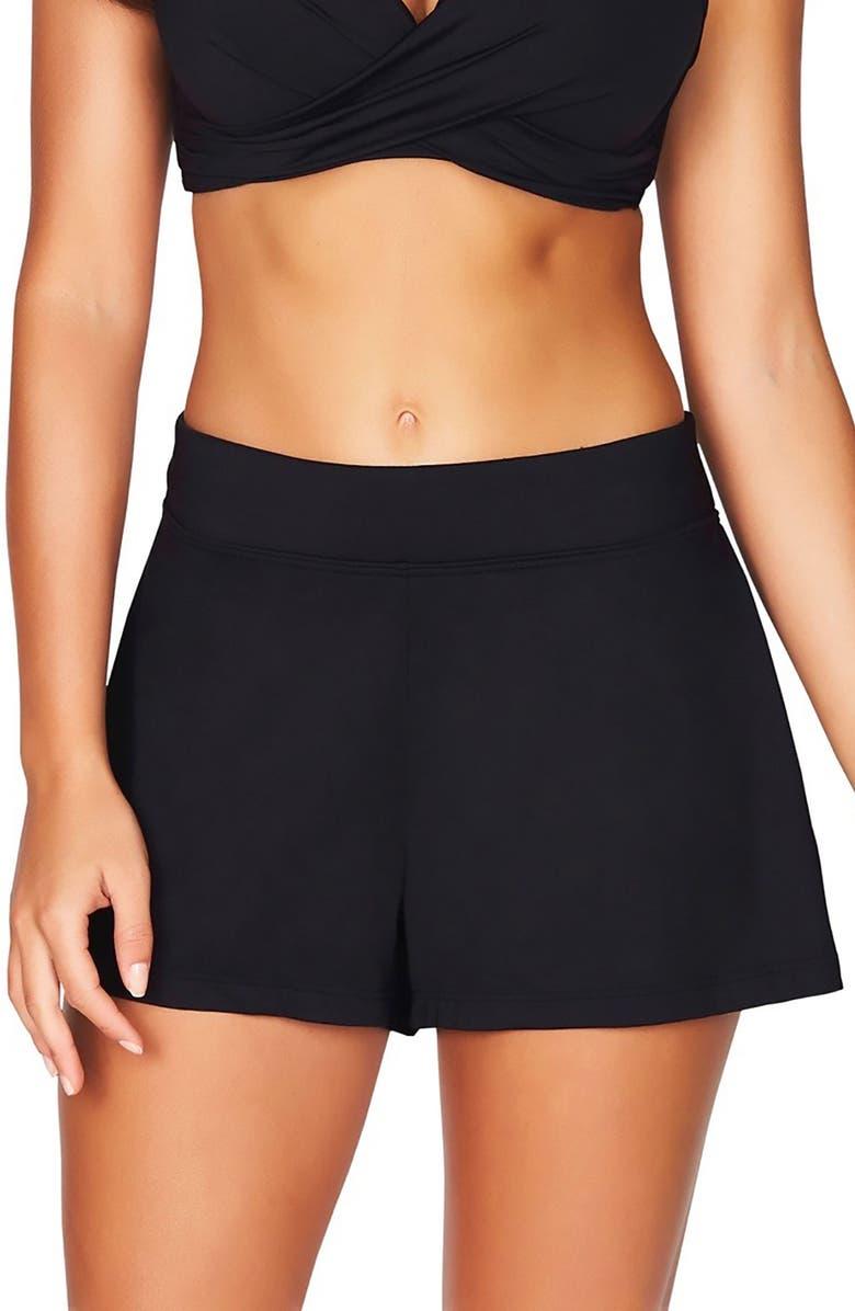 SEA LEVEL Swim Shorts, Main, color, 001